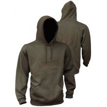 Vass Embroidered Hoody Khaki Edition - L