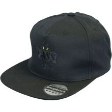Vass SnapBack Fishing Cap `Black Stealth`