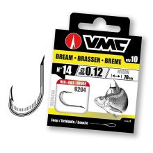 VMC 9294 Bream Red 70 cm Nylon 0,12 mm 10 Stück - Gr. 14