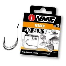 VMC 9294 Feeder Nickel 100 cm Nylon 0,16 mm 10 Stück - Gr. 8