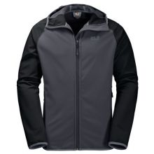 Jack Wolfskin Zenon Softshell Men Ebony - XL