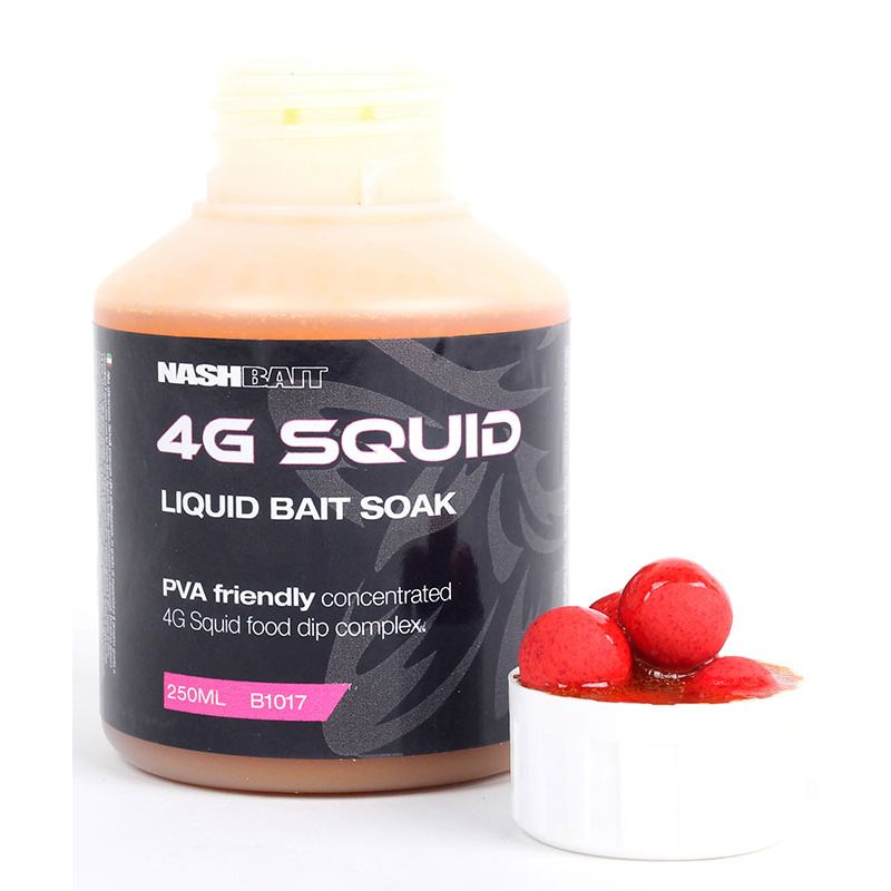 Nash Bait 4G Squid Bait Soak 250 ml