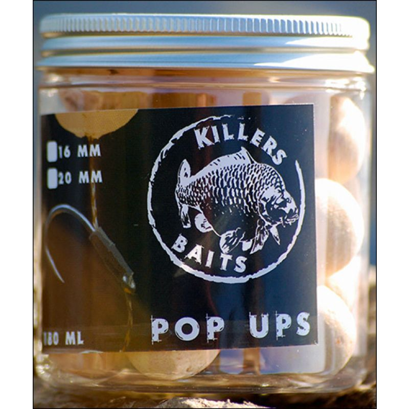 carp killers scoberry pop ups 16 mm kl angelsport. Black Bedroom Furniture Sets. Home Design Ideas